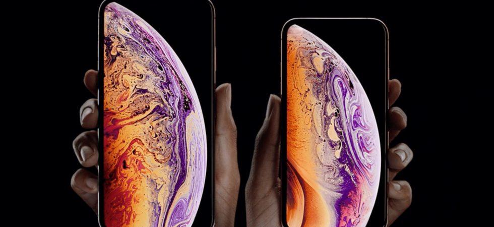 Apple iPhone XS Max & iPhone XS