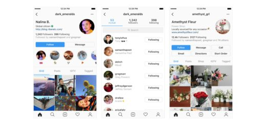 Instagram New Profile Design