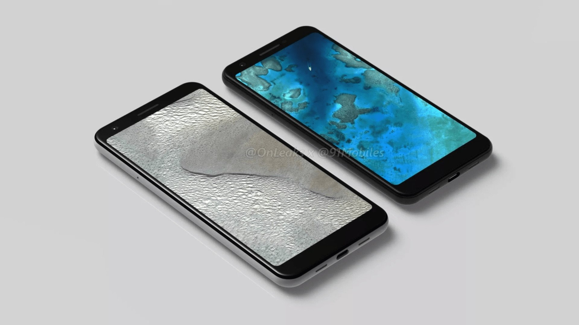 Renders of alleged Google Pixel 3 XL Lite, Pixel 3 Lite leaked online