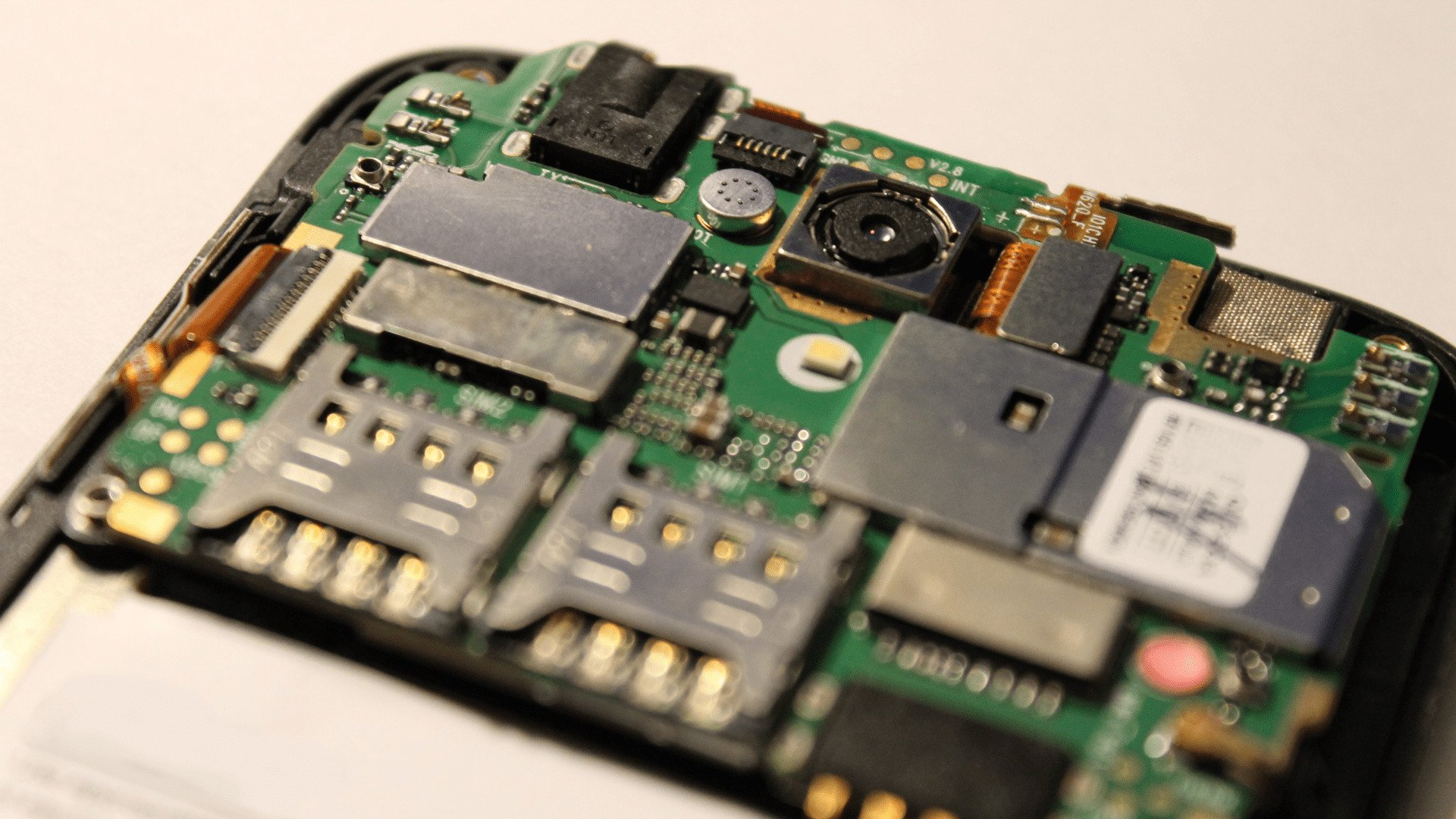 Mobile Stripped To Show Internal Components