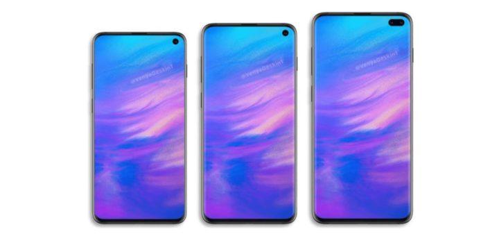 Samsung Galaxy S10 Render
