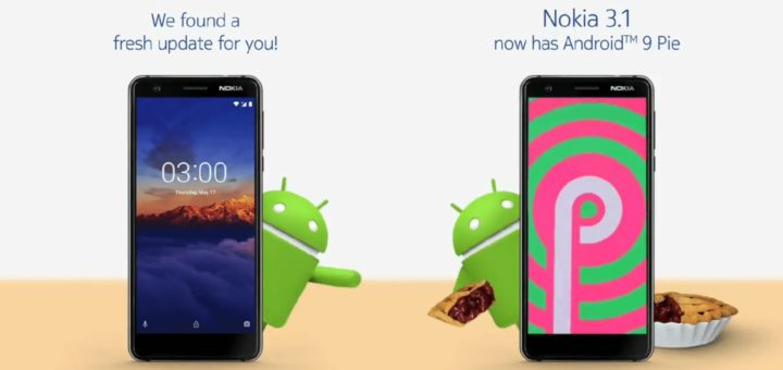 Nokia 3.1 - Android 9 Pie Update