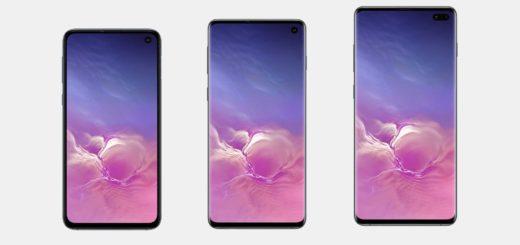 Samsung Galaxy S10, S10e, S10+