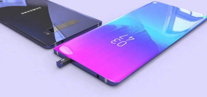 Samsung Galaxy Note 10 Concept