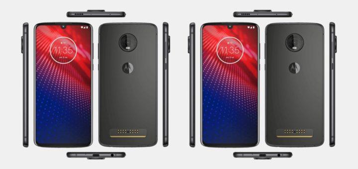 Motorola Moto Z4 Render