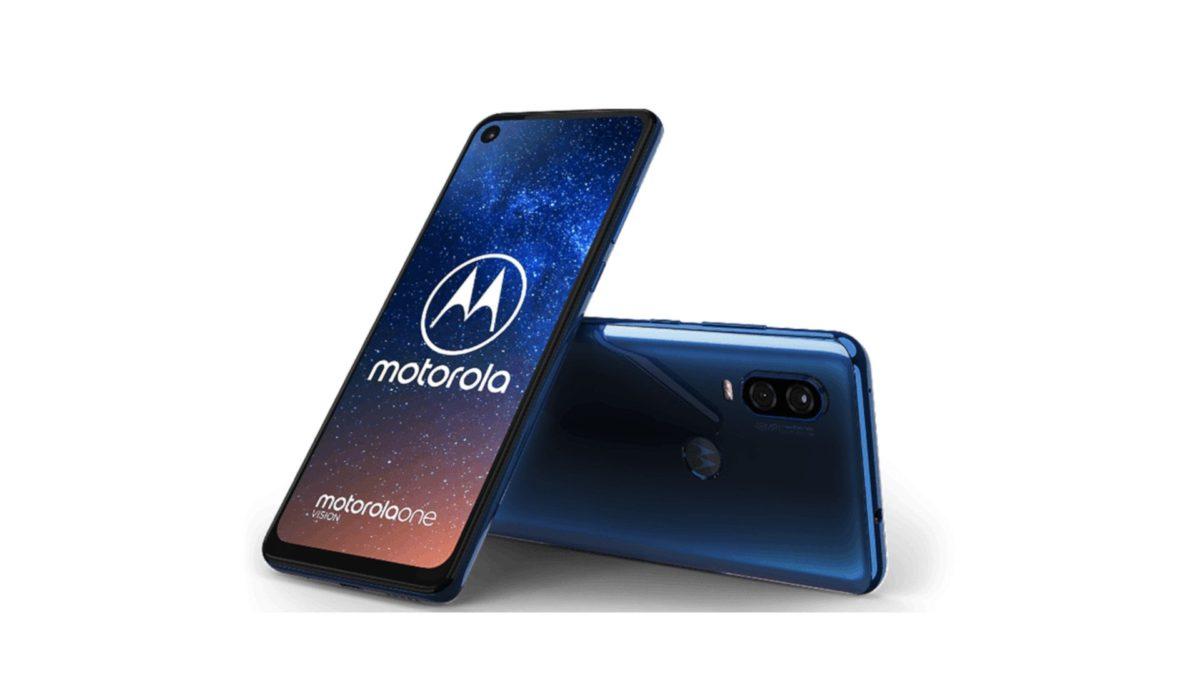 Motorola One Vision - Blue Color