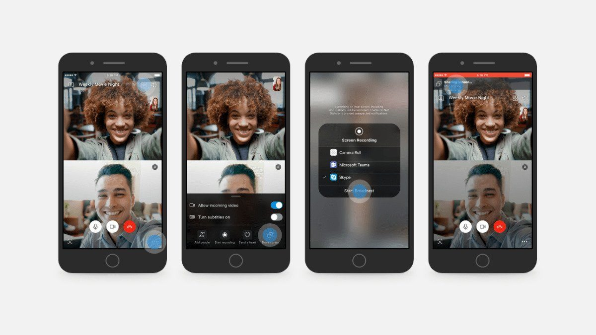 Skype - Mobile Screen Sharing