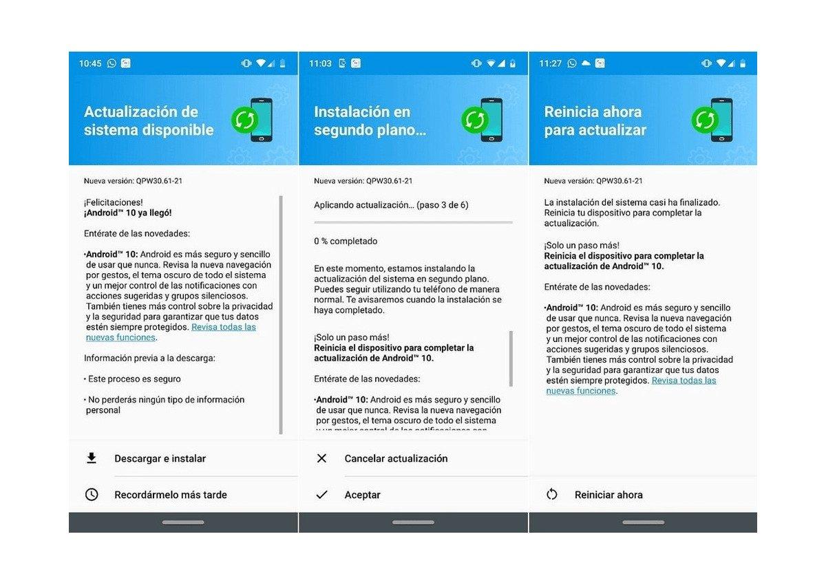 Motorola G7 Plus - Android 10 Update