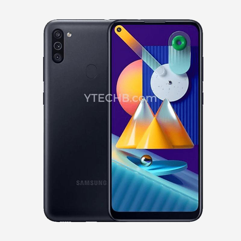 Samsung Galaxy M11 - Render (Black)