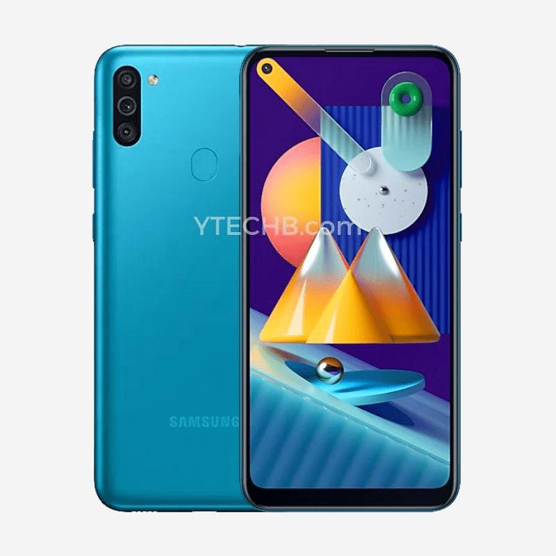 Samsung Galaxy M11 - Render (Blue)