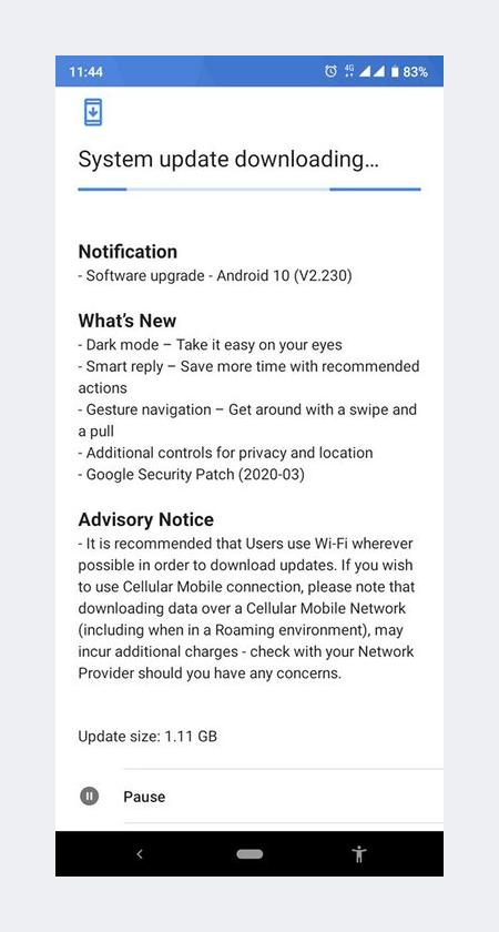 Android 10 Update For Nokia 2.3