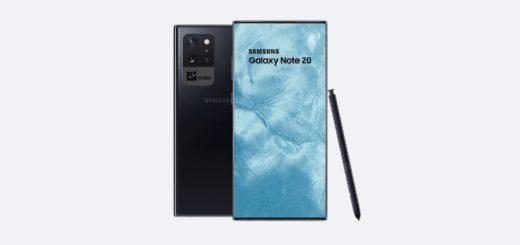 Samsung Galaxy Note 20 - Render