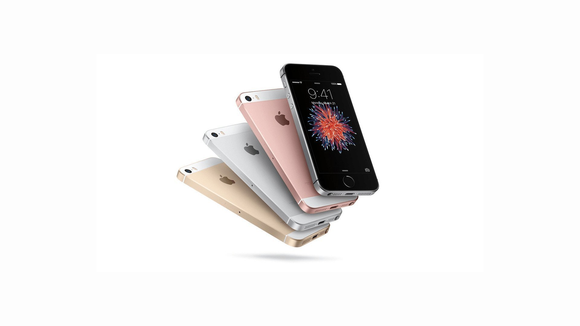 Apple iPhone SE (2020) a.k.a iPhone 9 - Stock Image