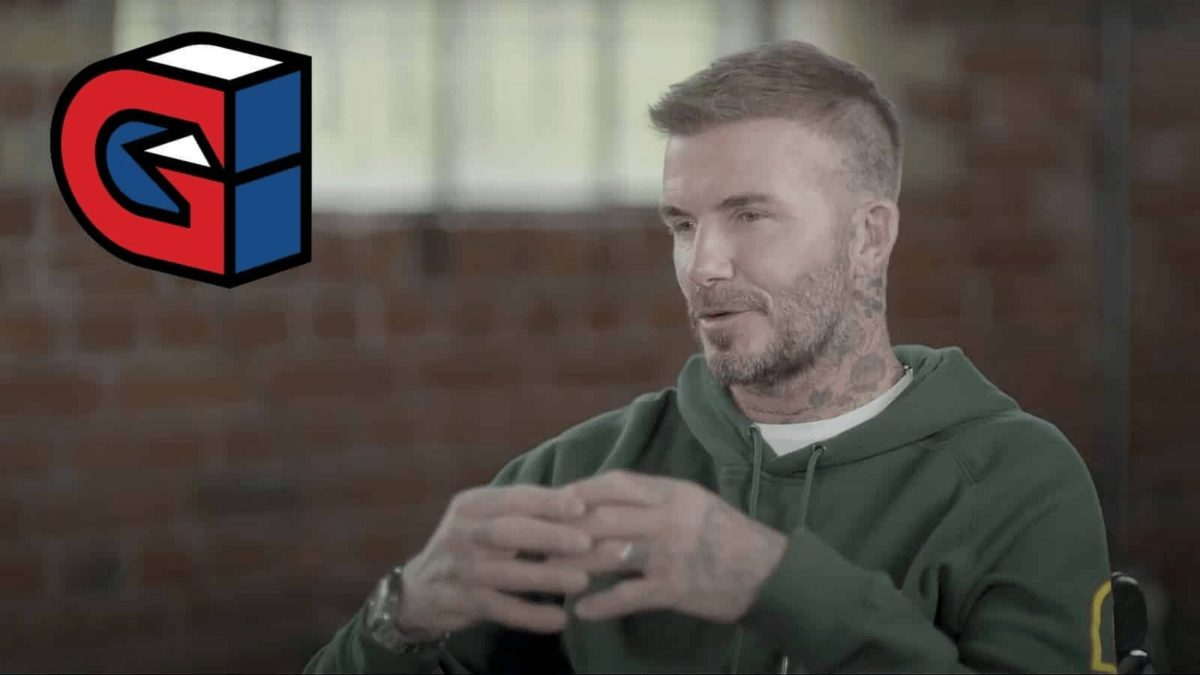 David Beckham is one of the biggest names in Football, now trying out the Esports world. / Source: Dextero